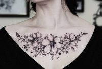 30 Chest Tattoos For Women That Draw Approving Eyes Chest within size 1080 X 1153
