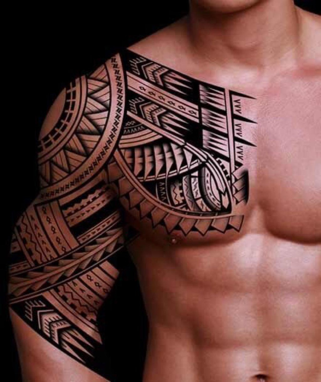 32 Amazing Tribal Sleeve Tattoos regarding dimensions 1024 X 1217