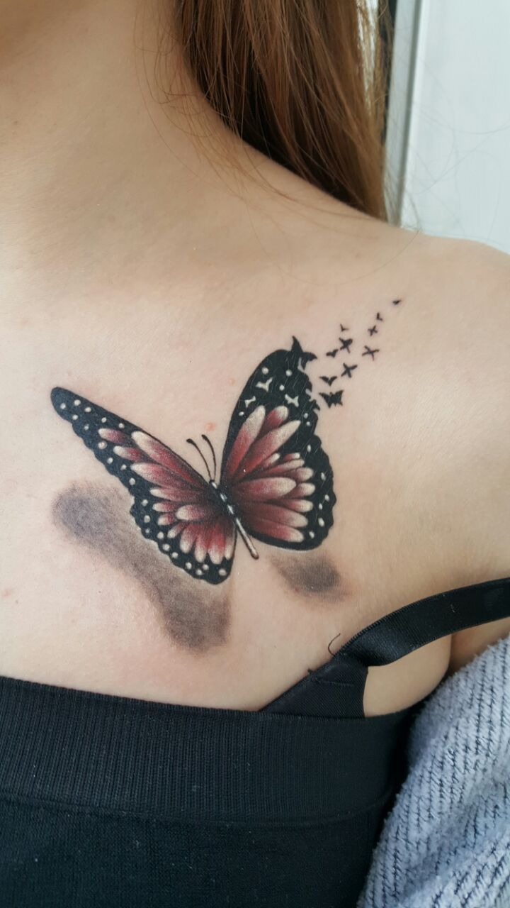 3d Butterfly Tattoo Butterfly Tattoos 3d Butterfly Tattoo inside dimensions 720 X 1280
