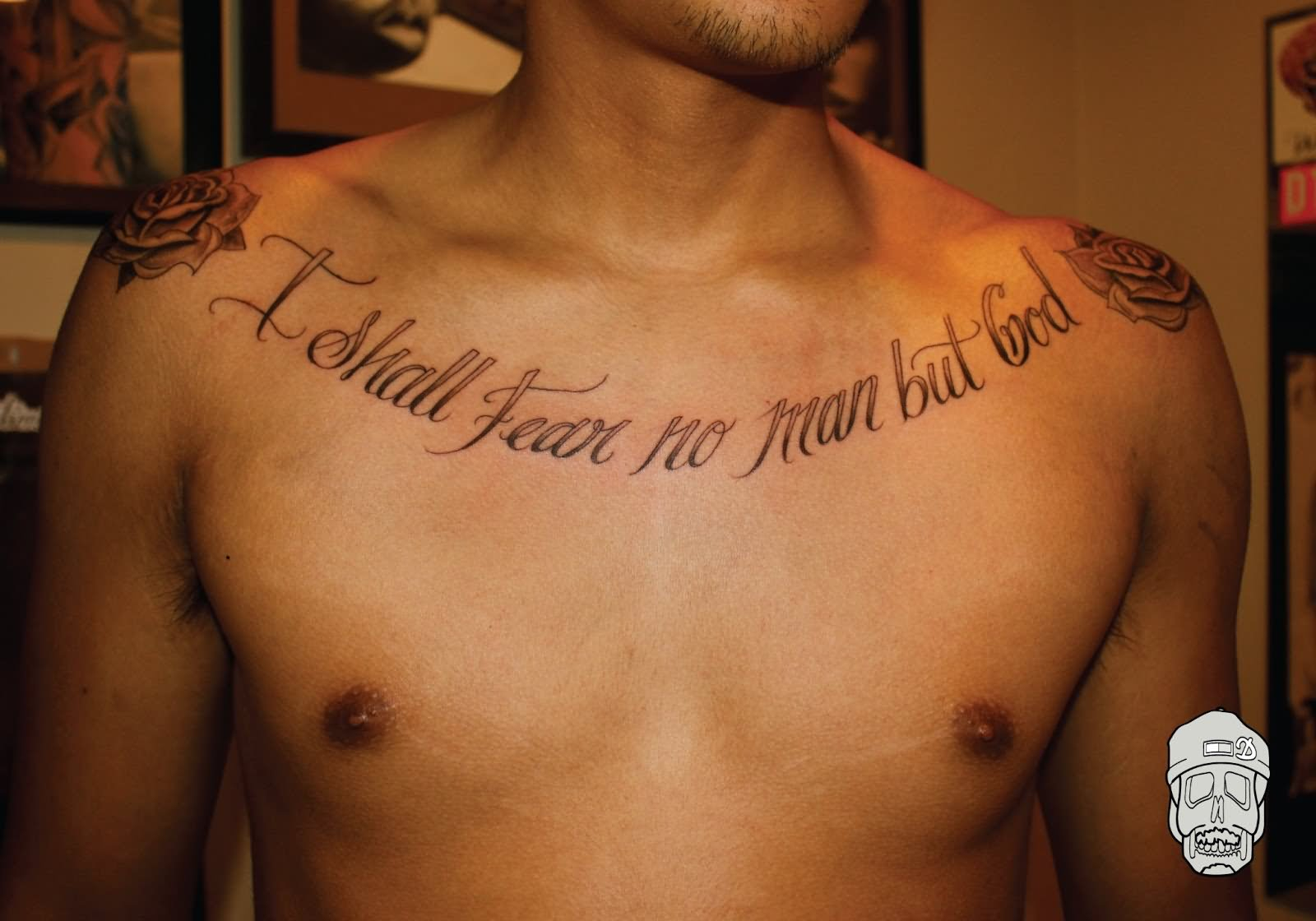 41 Quotes Tattoos On Chest throughout dimensions 1600 X 1120