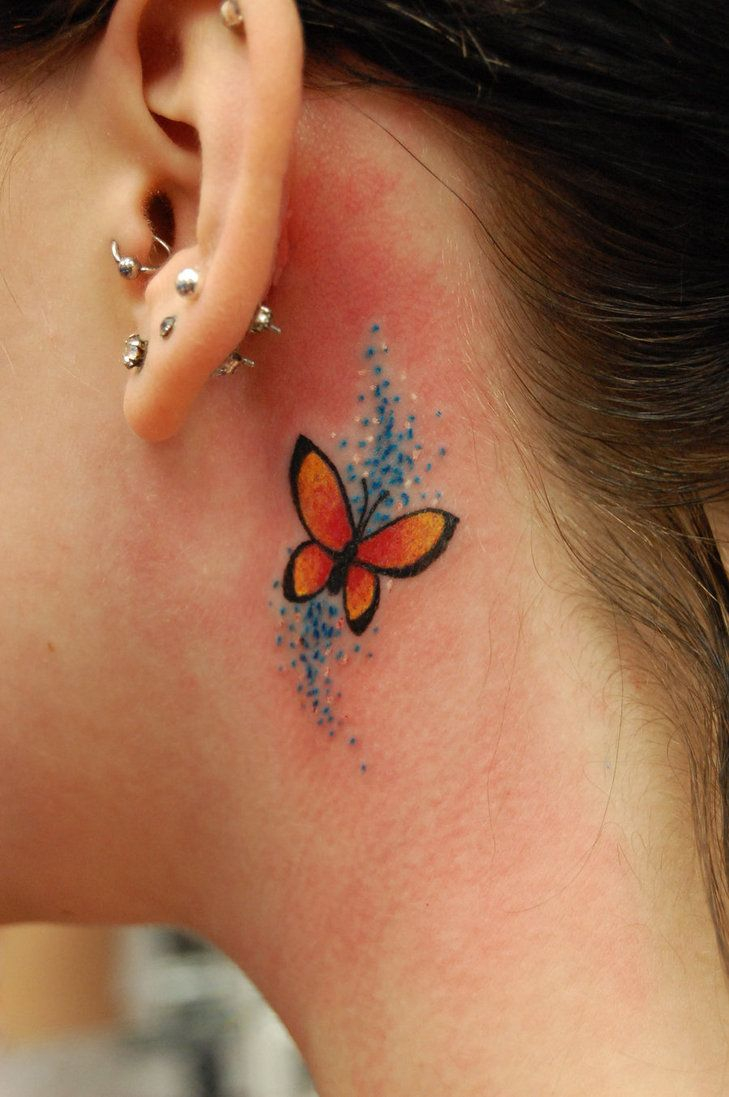 42 Colorful Butterfly Tattoo Ideas Tattoo Ideas Butterfly in size 729 X 1097