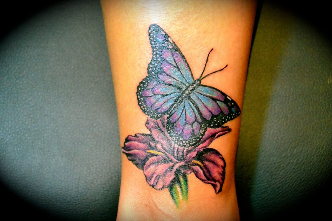 43 Awesome Butterfly Tattoos On Wrist inside measurements 1280 X 853