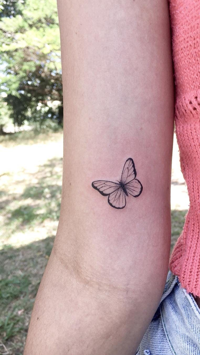 46 Beautiful And Cute Butterfly Tattoo Designs To Get That Charm intended for measurements 762 X 1349