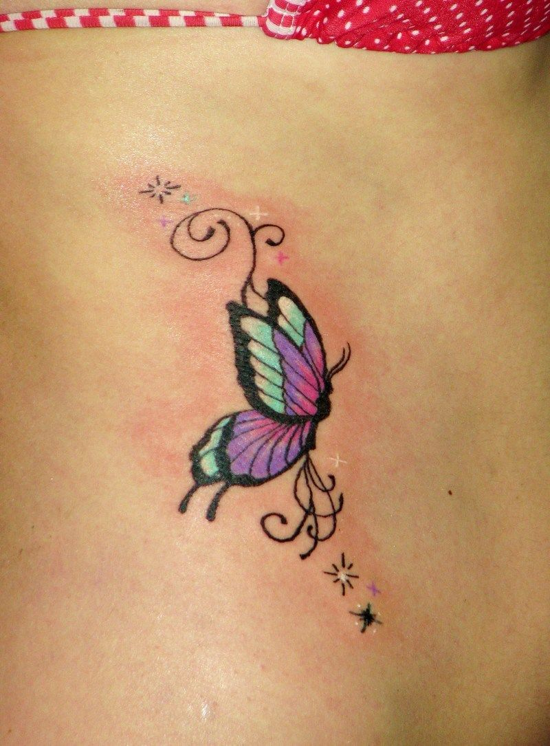 50 Amazing Butterfly Tattoo Designs Tattooslets Get Inked with regard to size 800 X 1085