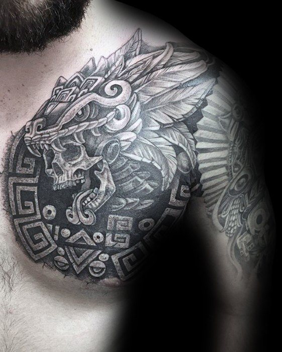 Tribal Chest Cover Up Tattoo Arm Tattoo Sites