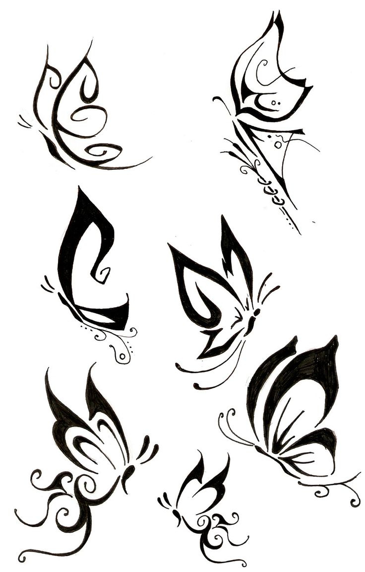 53 Amazing Butterfly Tattoos Designs with measurements 736 X 1152