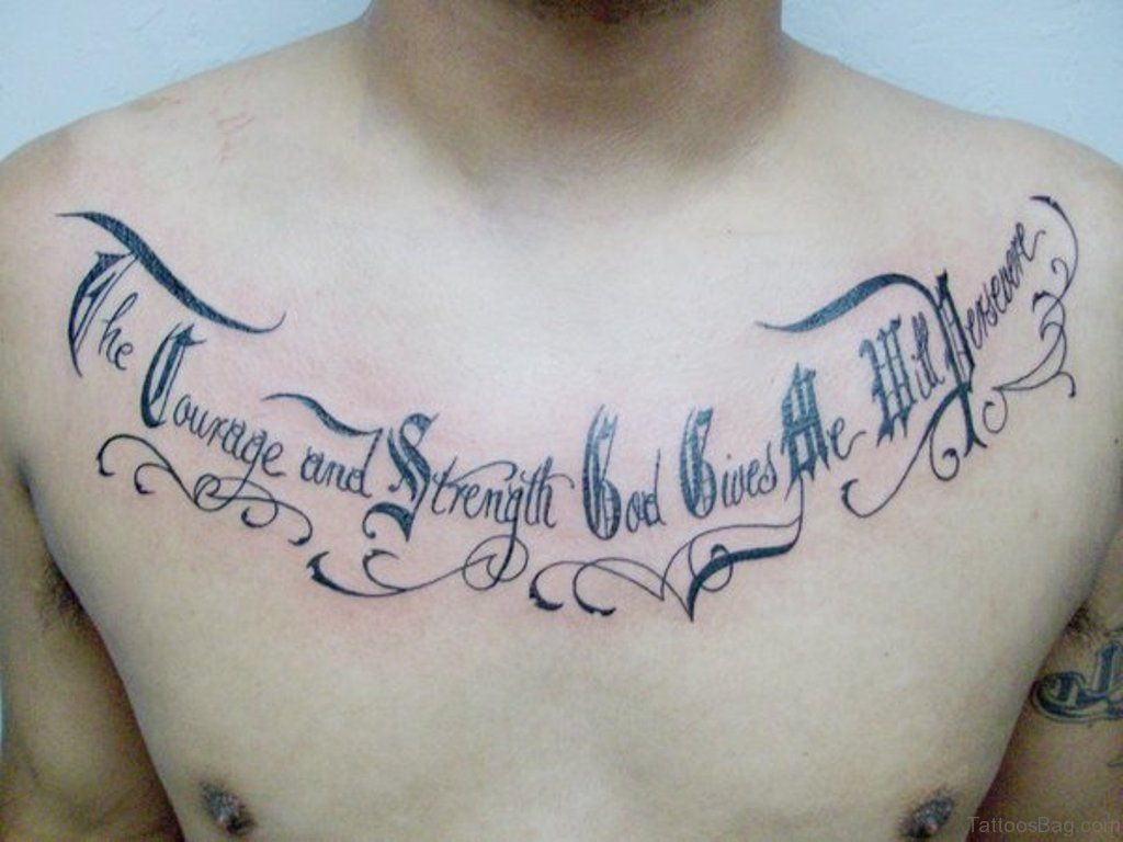 68 Outstanding Chest Tattoos inside sizing 1024 X 768