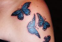 73 Awesome Butterfly Shoulder Tattoos pertaining to sizing 1200 X 1600