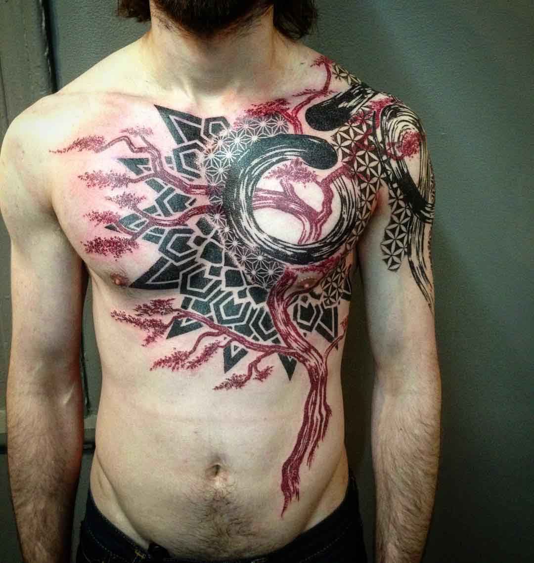 Abstract Tree Tattoo Best Tattoo Ideas Gallery throughout measurements 1080 X 1139