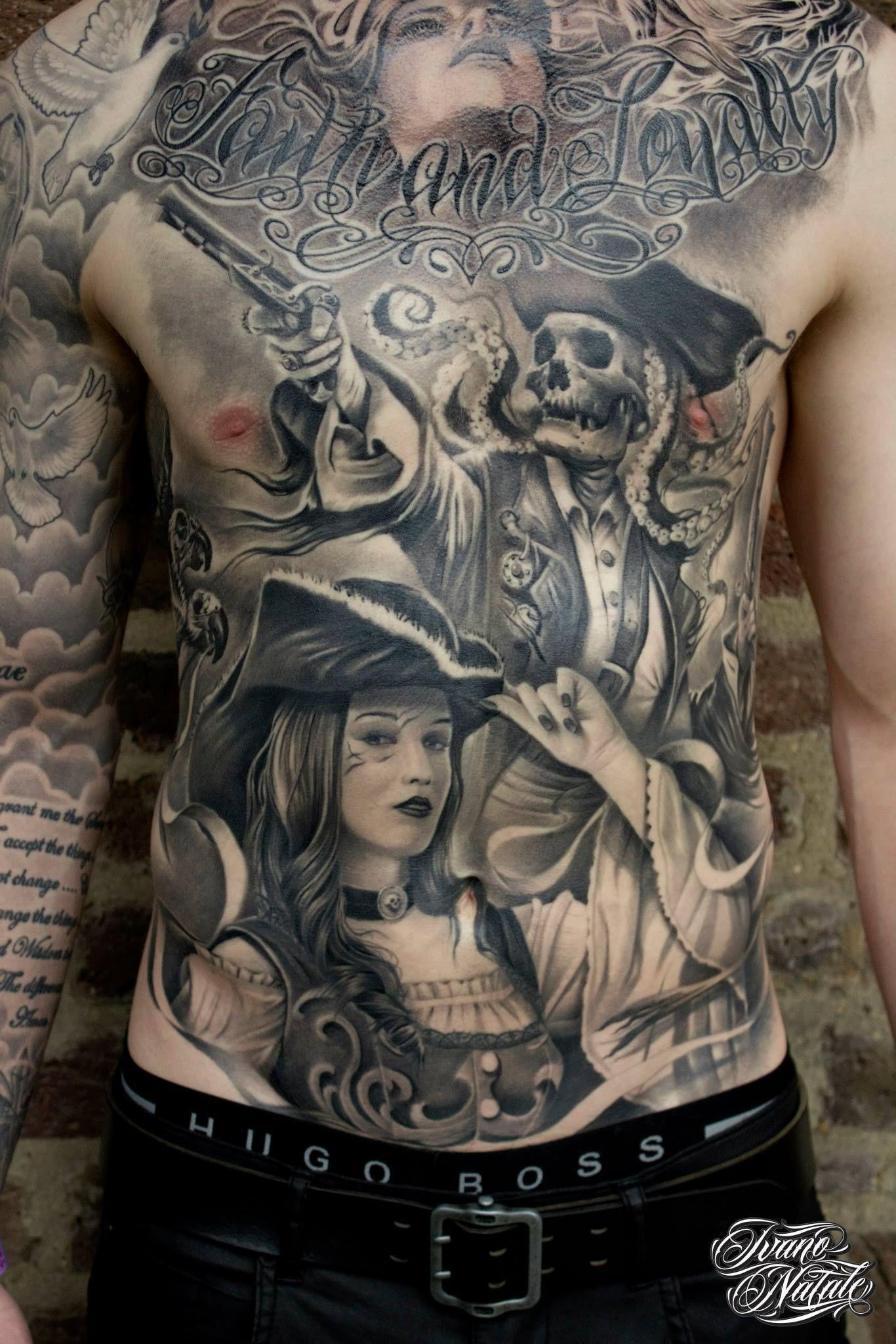 Amazing Tattoo Designs Tattoos Full Chest Tattoos in size 1366 X 2048