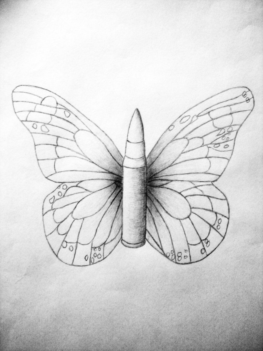 Bullet With Butterfly Wings Google Search Body Art Butterfly with dimensions 900 X 1200