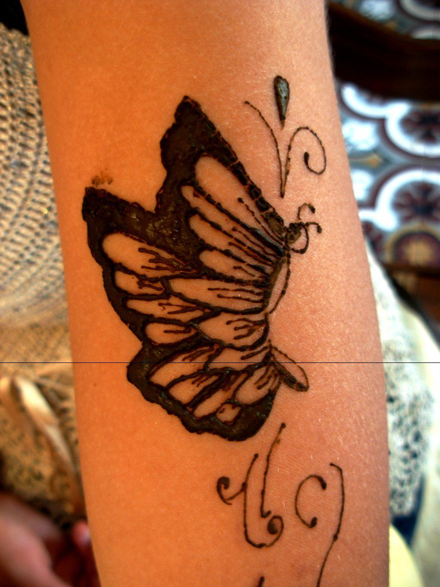 Butterfly Henna Tattoo Design Henna Tattoo Butterfly Projects To in sizing 900 X 1200