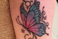Butterfly Tattoos Yeahtattoos All Kinds Of Tattoos within size 768 X 1024