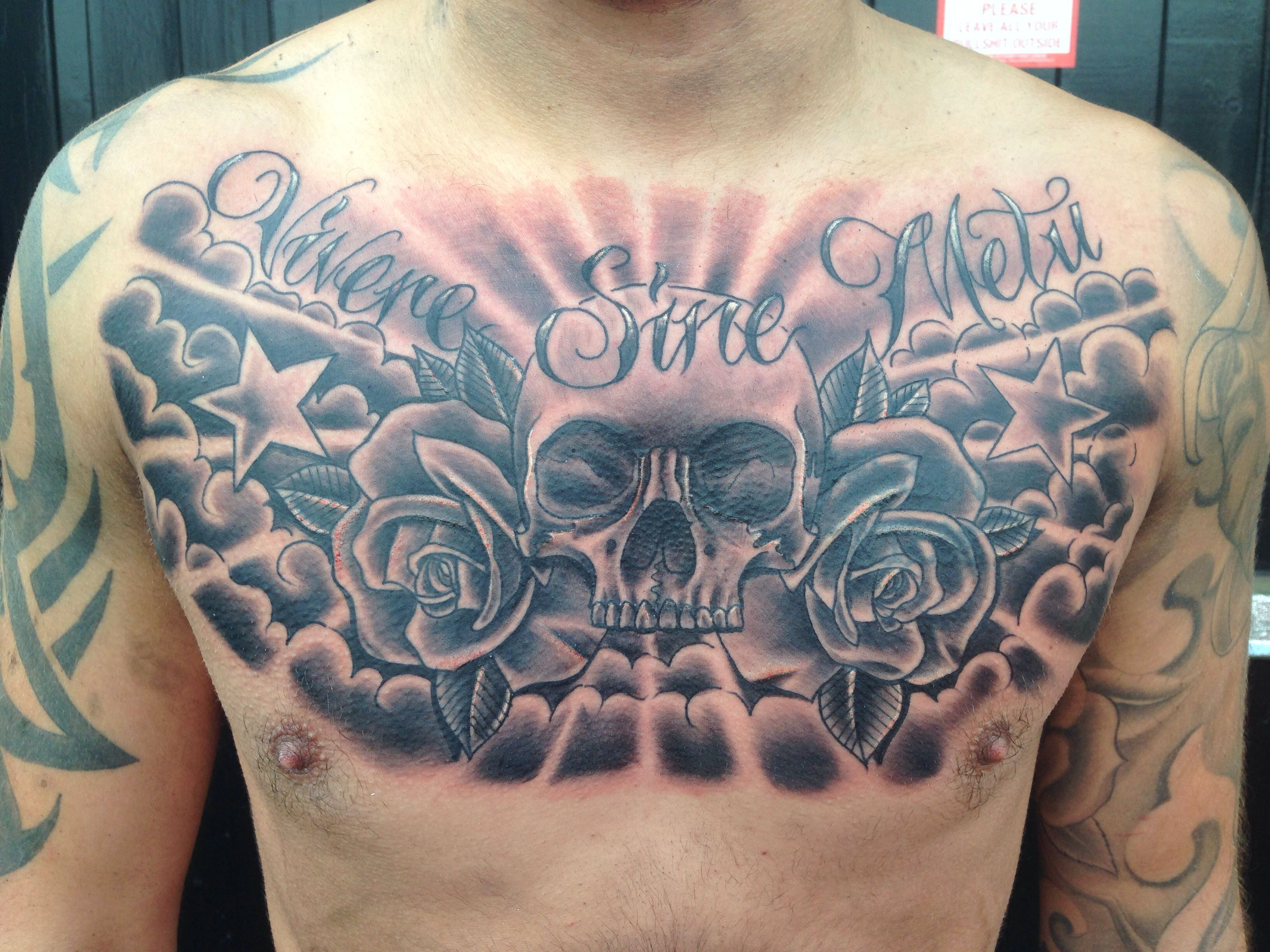 Chest Piece Tattoo Ideas Chest Tattoo Tattoos Stomach Tattoos regarding measurements 3264 X 2448