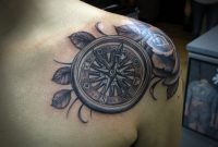 Compass And Rose Tattoo Design On Chest Tattoo Designs Tattoo inside size 1961 X 1675