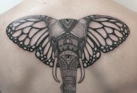 Elephant Tattoo With Butterfly Ears Tattoos On Men Elephant inside size 1080 X 1080