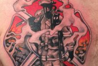 Firefighter Smoke Maltese Tattoo Chest Shared Lion Smokin throughout size 2448 X 3264
