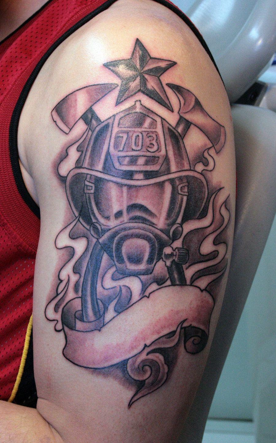 Firefighterhelmettattoos Firefighter Helmet Tattoos Nice with regard to dimensions 900 X 1445
