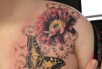 Gerbera Daisy With Butterfly Ink Sl1ng3rdeviantart On inside measurements 1152 X 1536