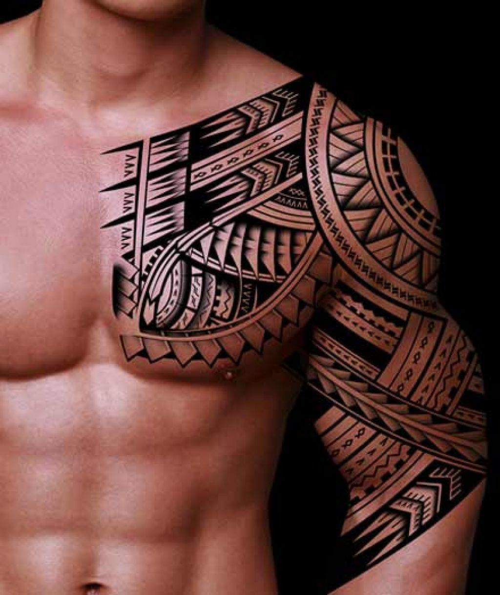 Half Sleeve Tribal Tattoo Designs For Men Tattoos Tribal Tattoos for size 1024 X 1217