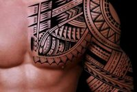 Half Sleeve Tribal Tattoo Tattoos Tribal Tattoos Tribal Sleeve within size 1024 X 1217