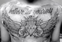 Insane Diamond Chest Tattoo Tattoos Chest Piece Tattoos Diamond regarding size 1024 X 768