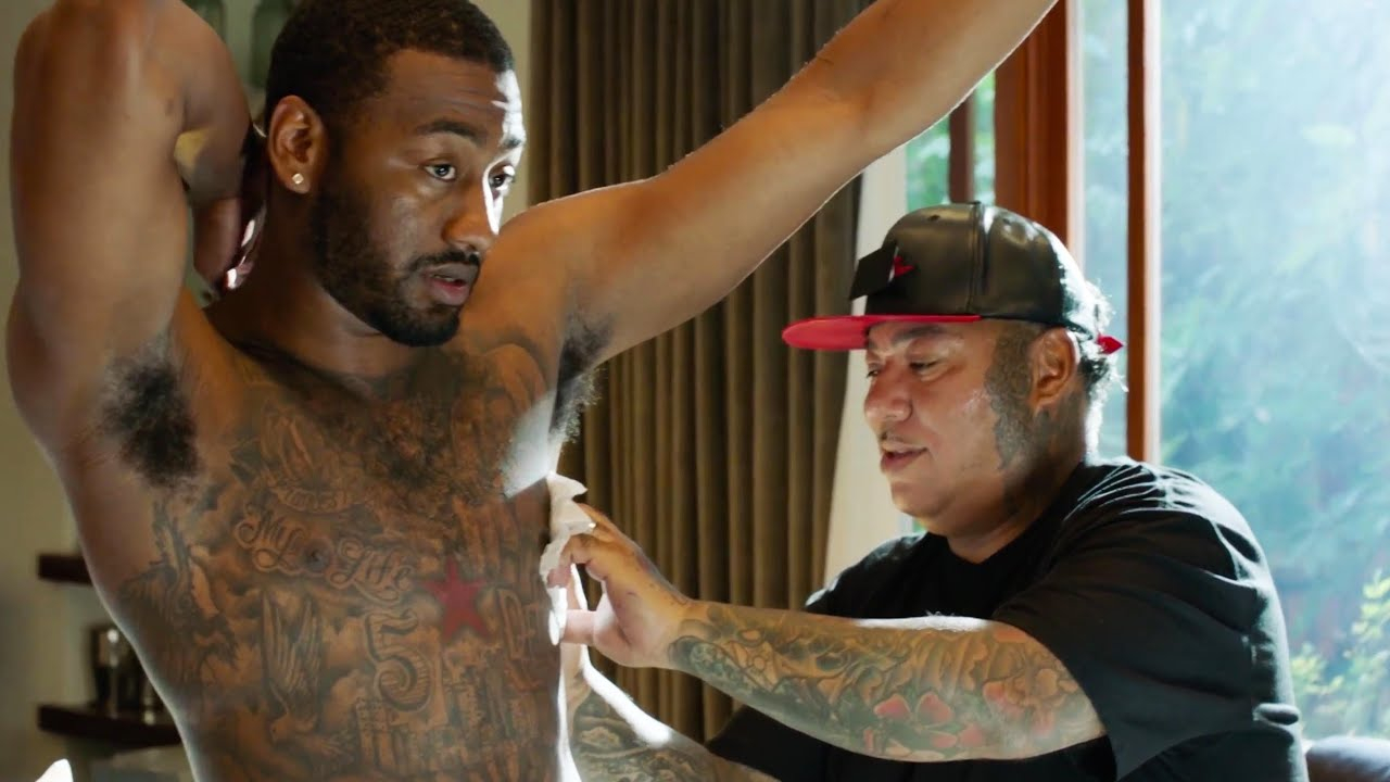 John Wall Explains His New Tattoo A Tribute To His Turbulent Past pertaining to dimensions 1280 X 720