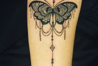 Lace And Chandelier Style Butterfly Tattoo Ideas Butterfly inside sizing 3024 X 3630