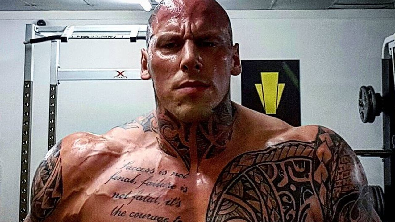 Martyn Ford Training For Movie Boyka Undisputed 4 Fitness Volt in measurements 1280 X 720