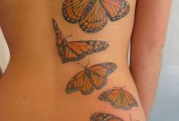 Monarch Butterflies Back Tattoo Tattoo Ideas Butterfly Back within proportions 825 X 1100