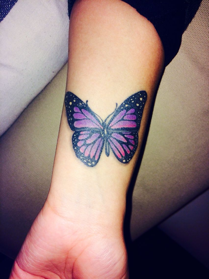 My Purple Lupus Butterfly Represents Hope Tattoos Purple in size 852 X 1136