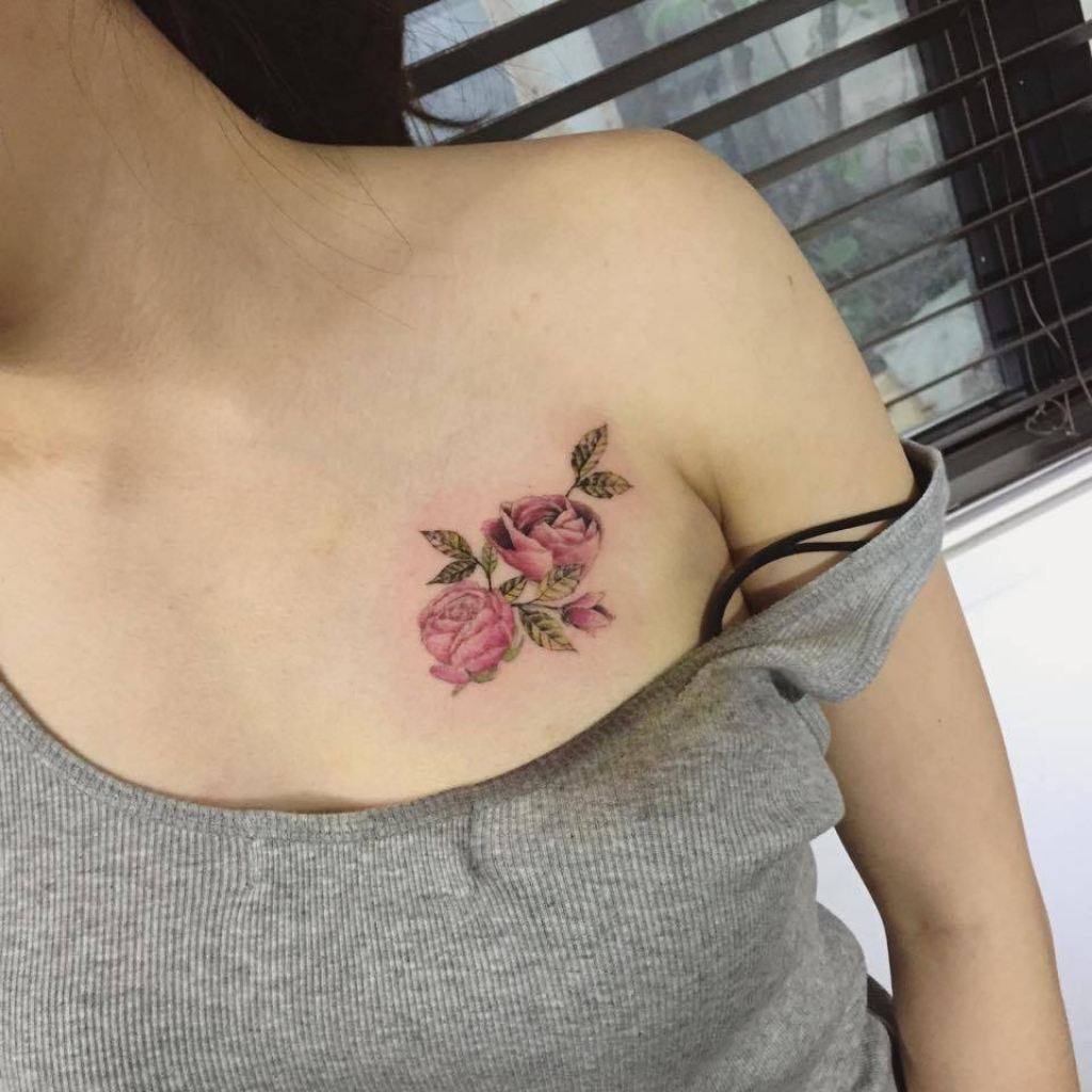 Mytattooland Chest Tattoos For Women within measurements 1024 X 1024