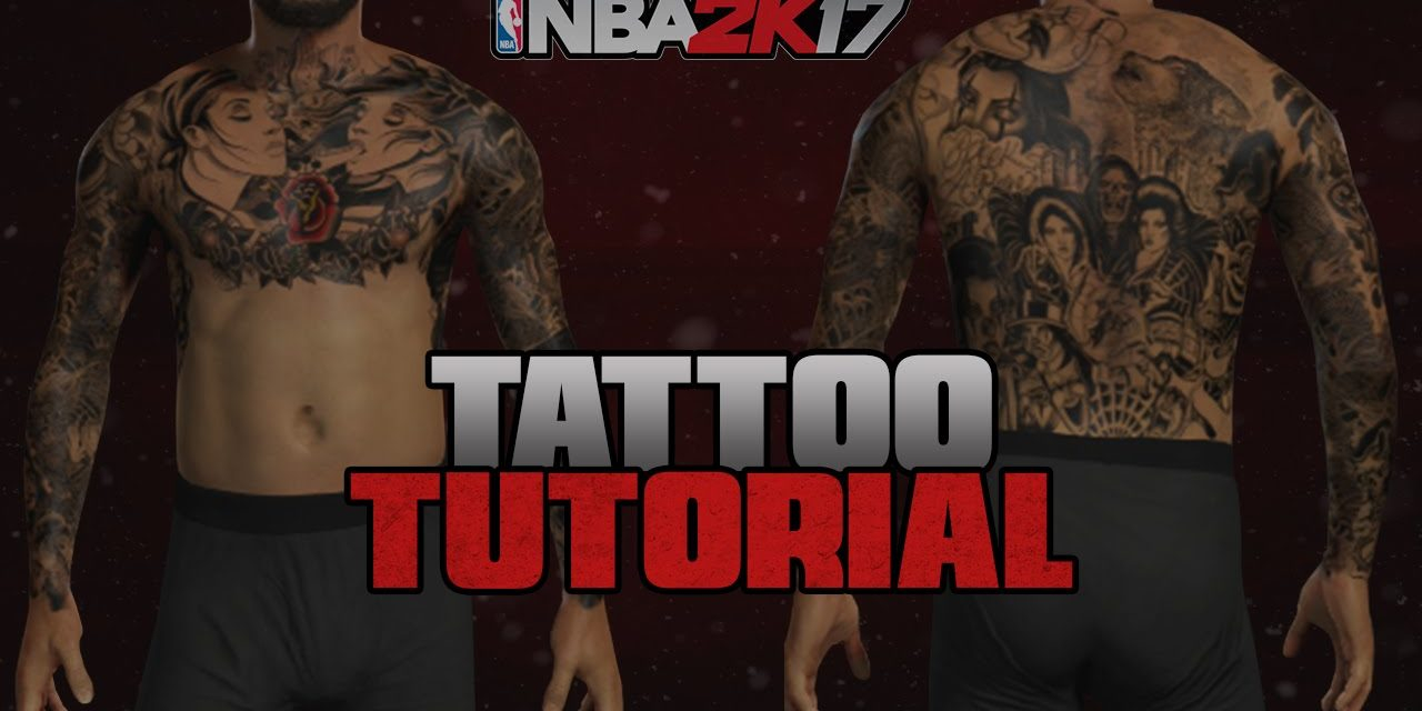 Nba 2k17 Best Tattoo Tutorial For Your Myplayer New Story On My intended for proportions 1280 X 640