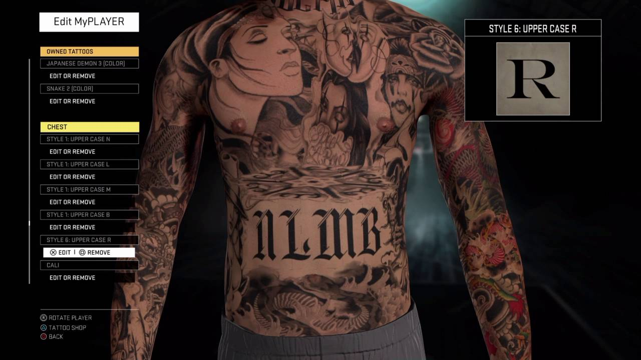 New Tattoo Ideas Nba 2k17 Tattoo inside sizing 1280 X 720