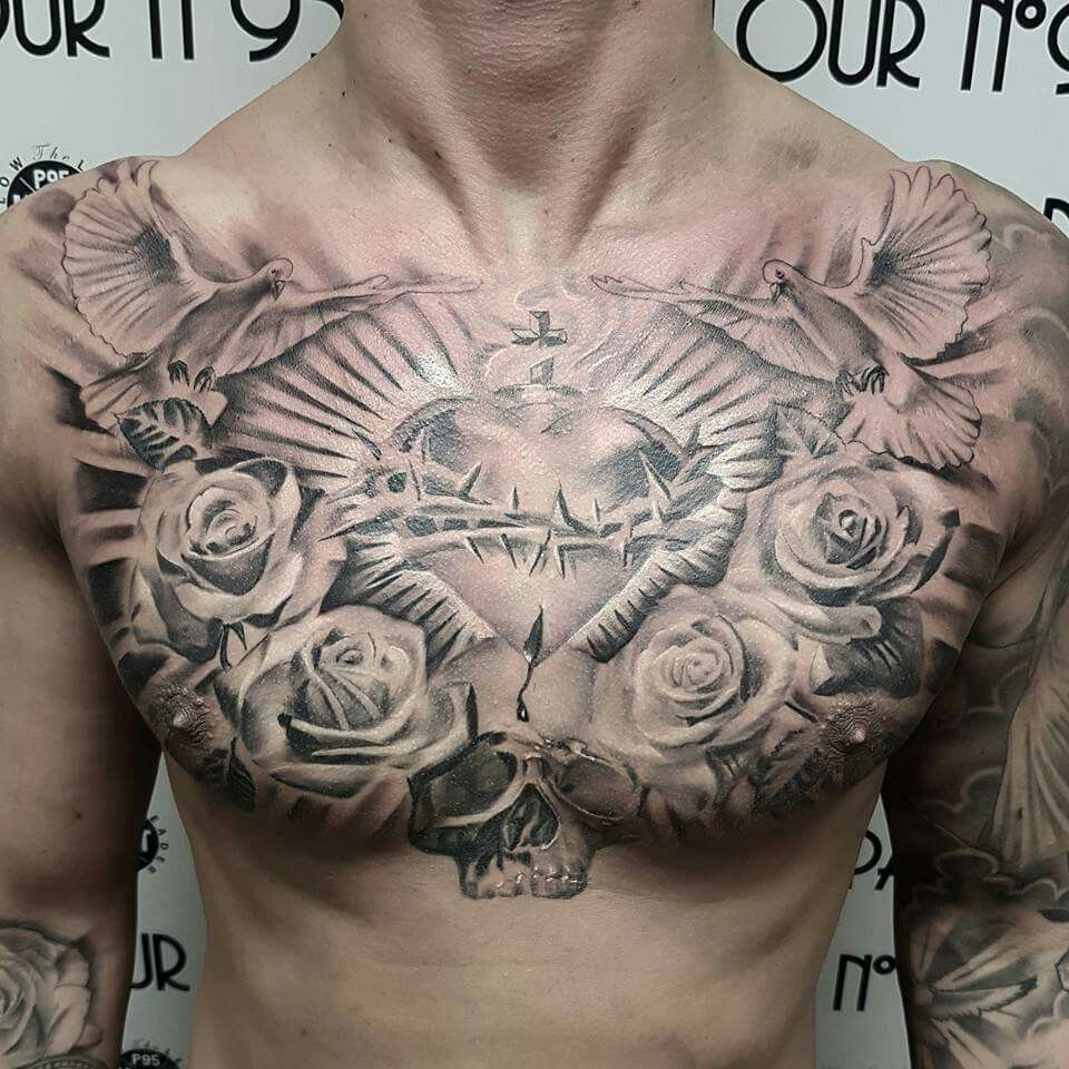 Pin Brian Brandon On Tattoos Chest Tattoo Cool Chest Tattoos within sizing 960 X 960
