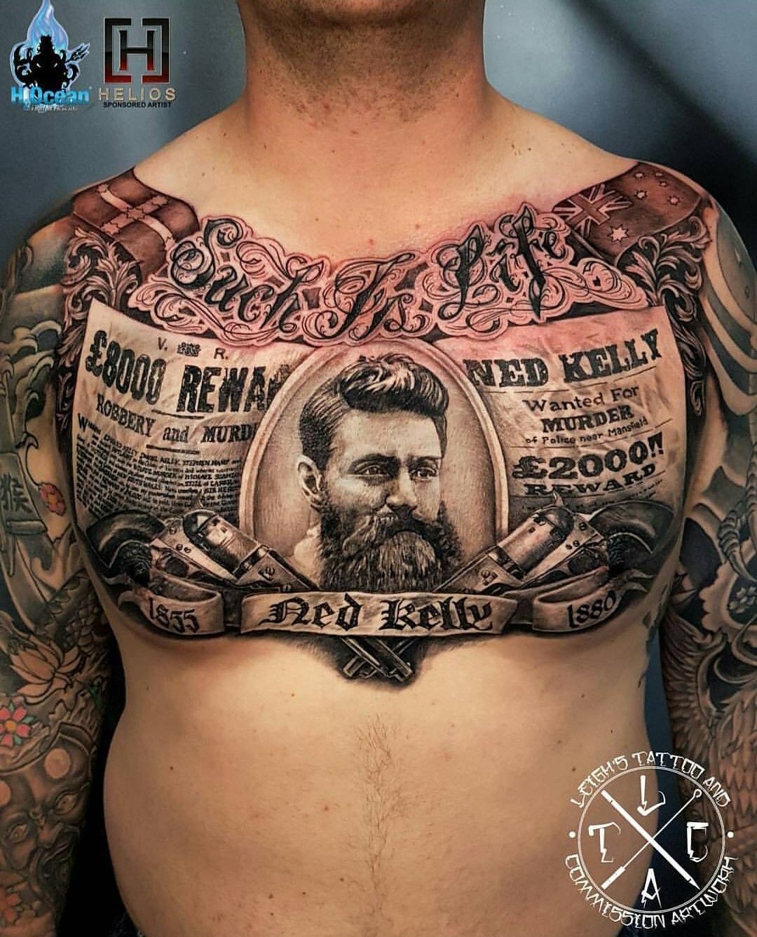 Tattoos For Guys Chest • Arm Tattoo Sites