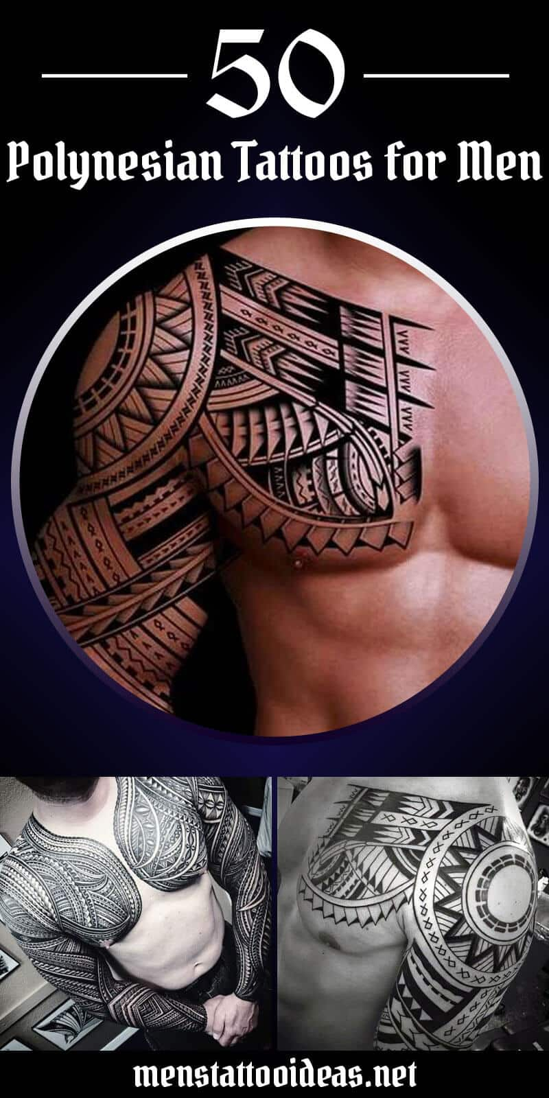 Polynesian Tattoos For Men Ideas And Designs For Guys pertaining to size 800 X 1600