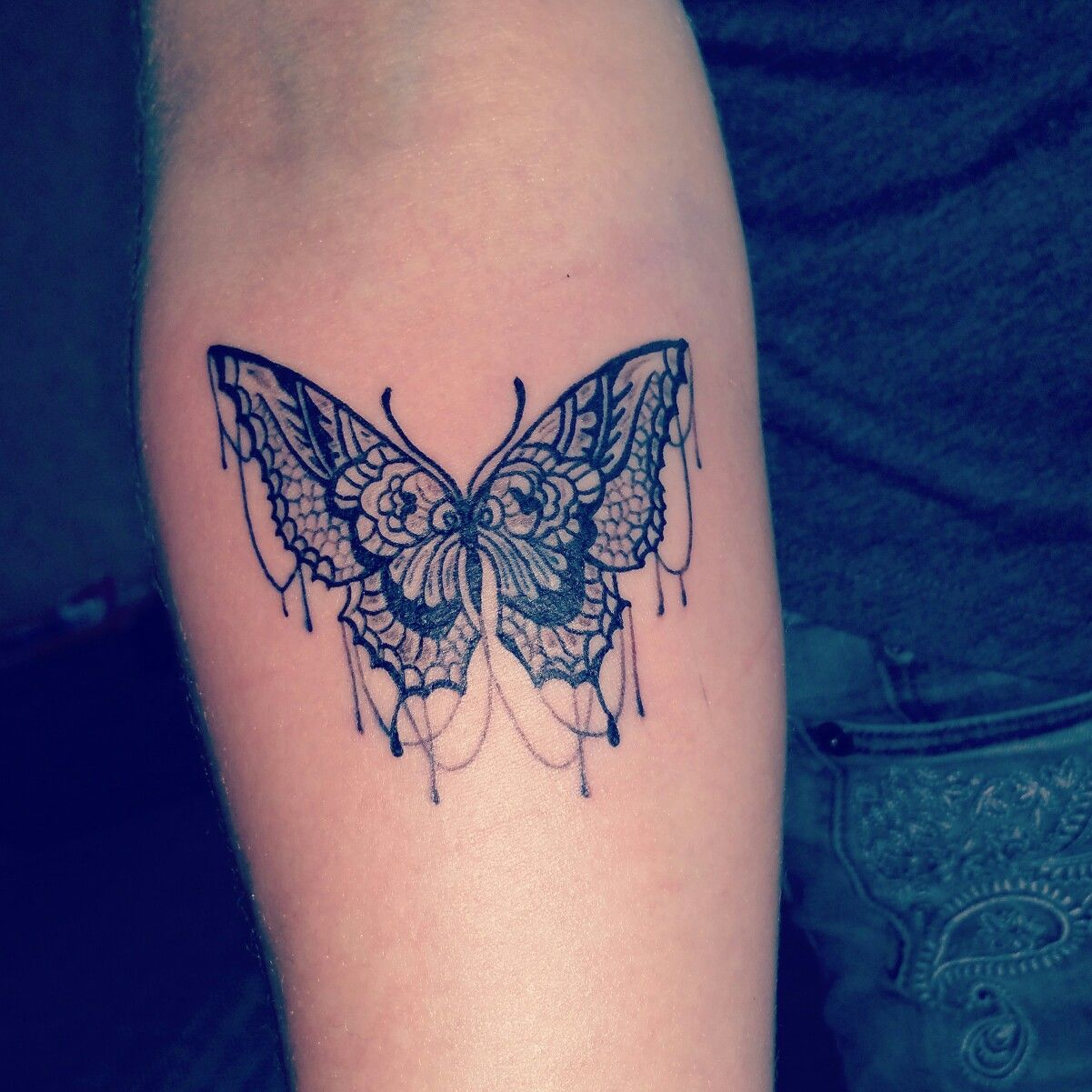 Small Butterfly Tattoo Kuldgas Tattoo Aldis Rrihs Small within proportions 1201 X 1201