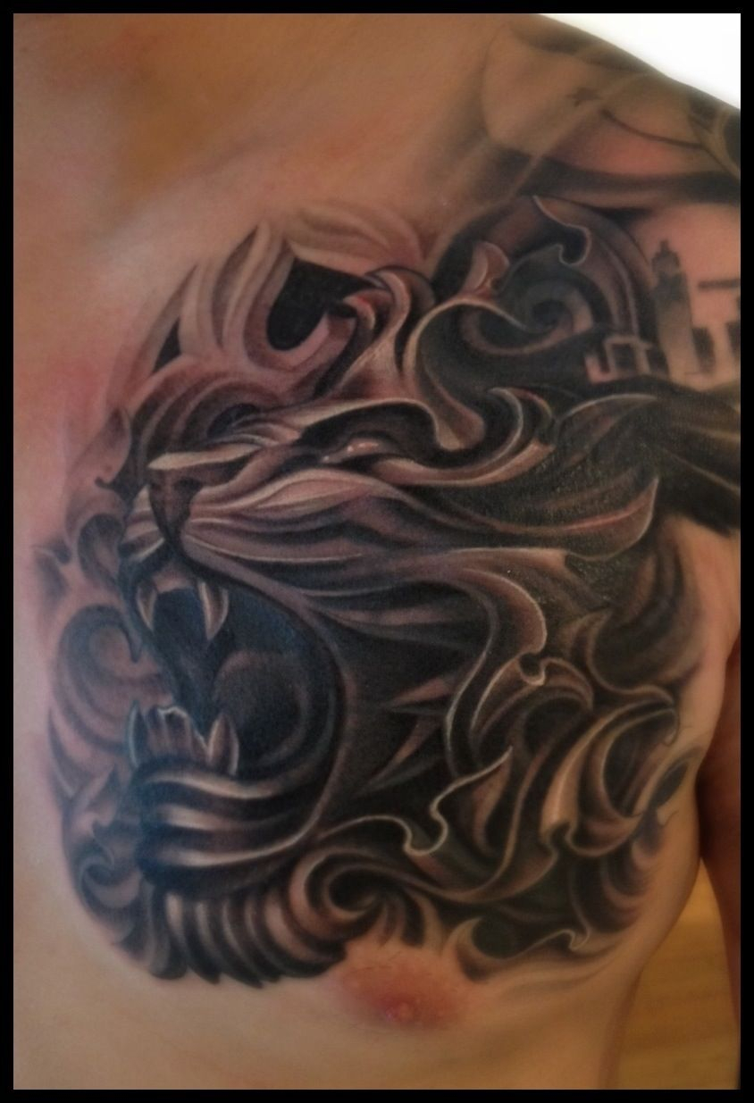 Tattoo Cover Up Coverup Lion Lion Tattoo Tattoo Nightmare 4 Replies with regard to dimensions 844 X 1235