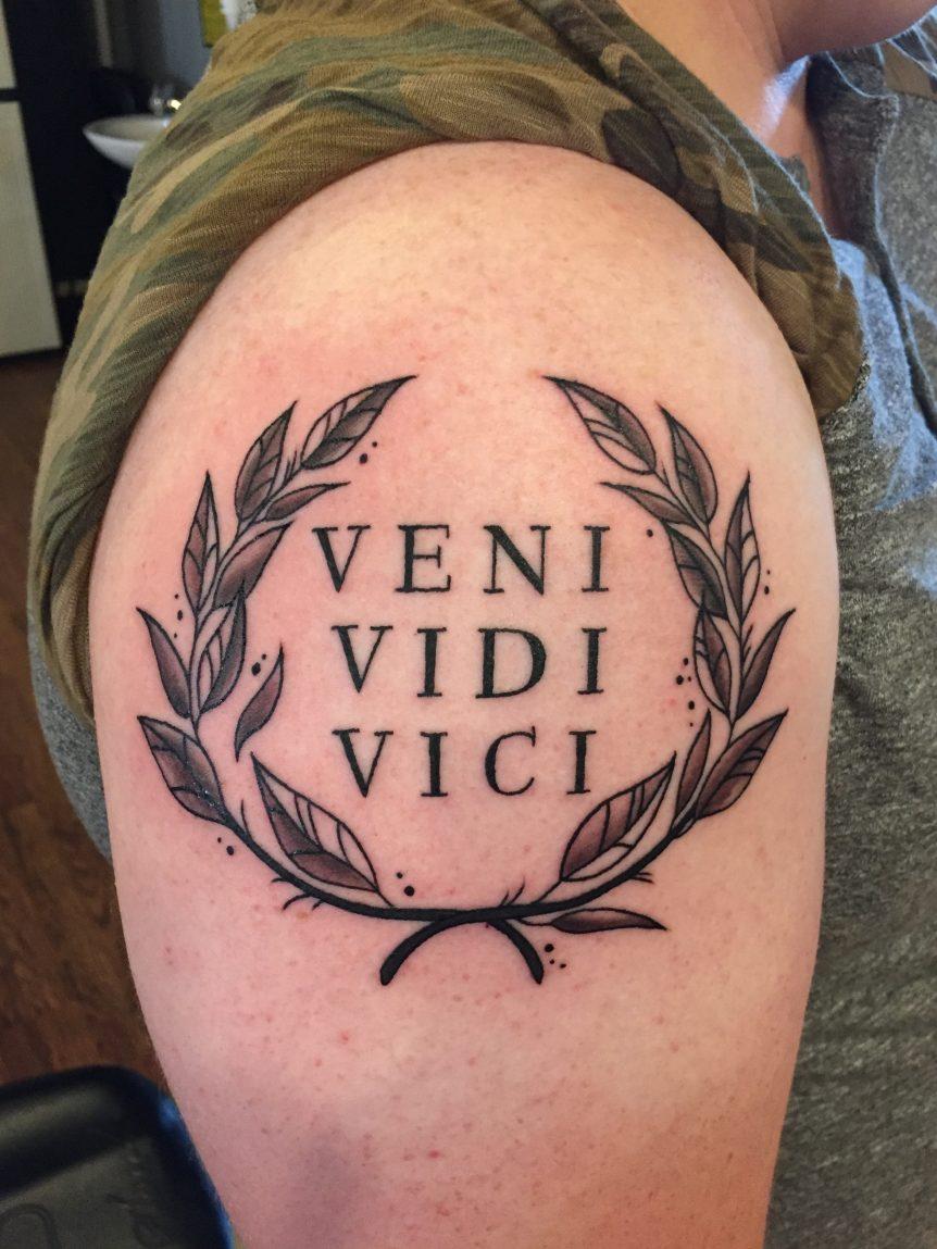 Tattoo Veni Vidi Vici in size 862 X 1149