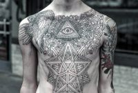 The 100 Best Chest Tattoos For Men Improb intended for size 1024 X 971