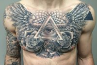 The 100 Best Chest Tattoos For Men Improb pertaining to sizing 3264 X 2448
