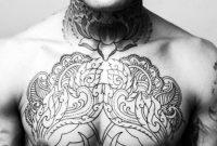 The 100 Best Chest Tattoos For Men Improb regarding sizing 1024 X 967