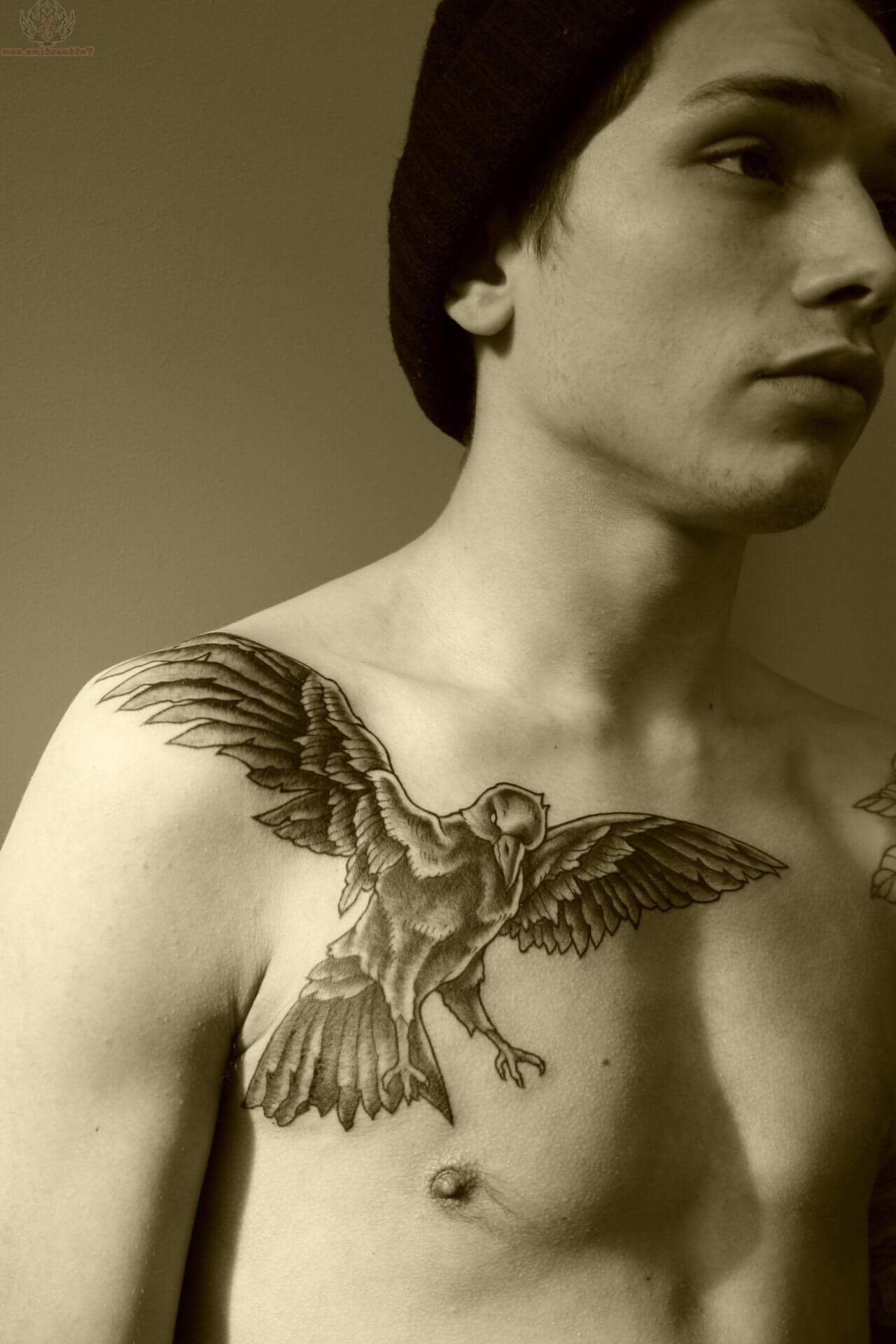 The 100 Best Chest Tattoos For Men Improb with measurements 1280 X 1920