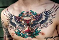The 100 Best Chest Tattoos For Men Improb with regard to dimensions 736 X 1080