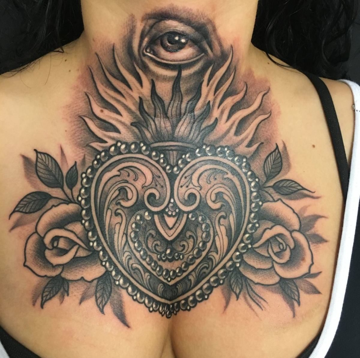 The Sacred Heart Tattoos And History Tattoo Life pertaining to size 1200 X 1192