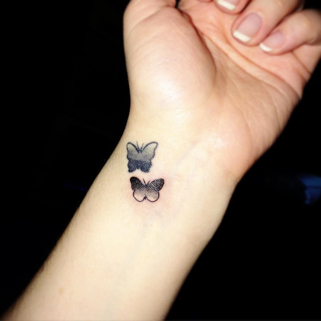 Tiny And Cute Butterfly Tattoo Lorraines Tattoos Tattoo Designs with regard to measurements 1080 X 1080