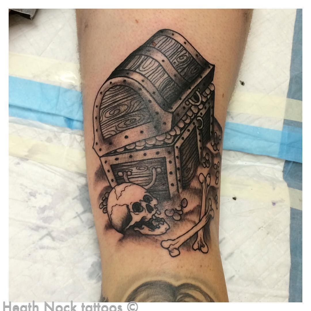 Treasure Chest Tattoo Best Tattoo Ideas Gallery inside size 1080 X 1080