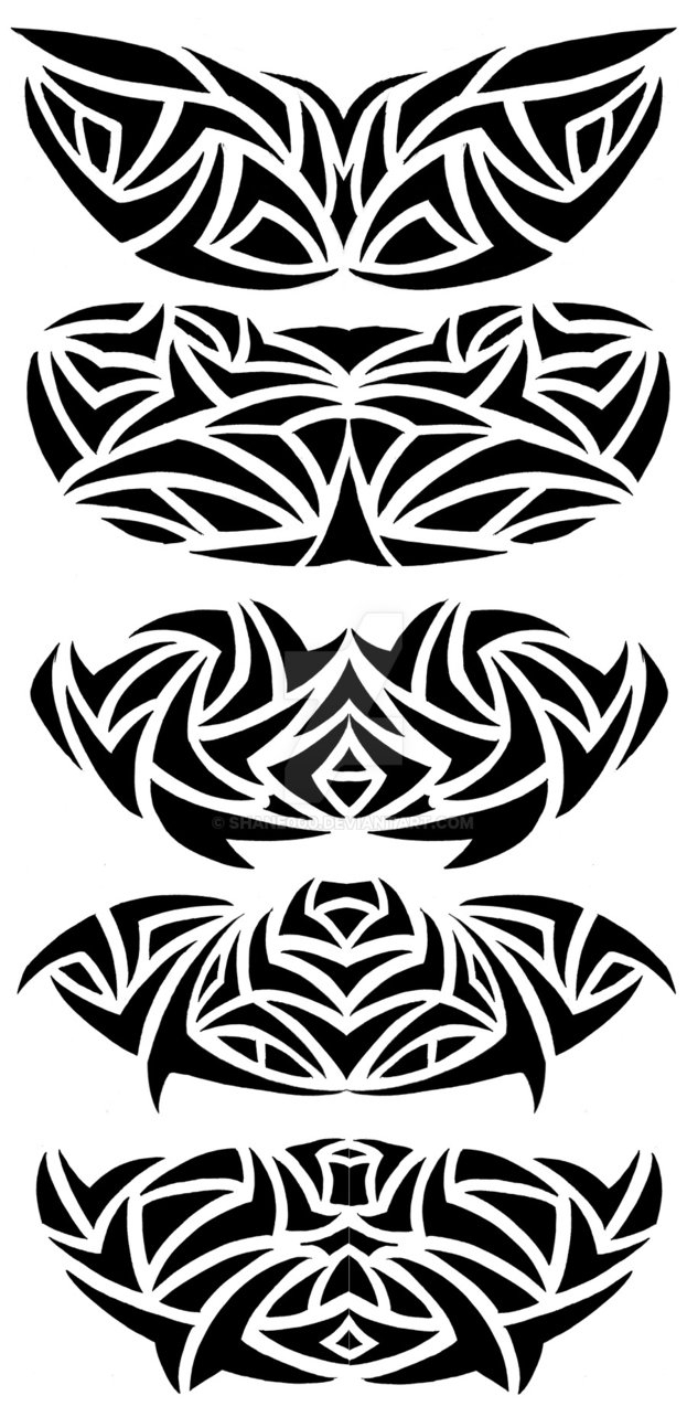 Tribal Chest Tattoo Designs Shane000 On Deviantart for size 623 X 1284