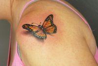 Wwwinkinktat Beautiful Monarch Realistic Butterfly Tattoo On inside size 1134 X 2016